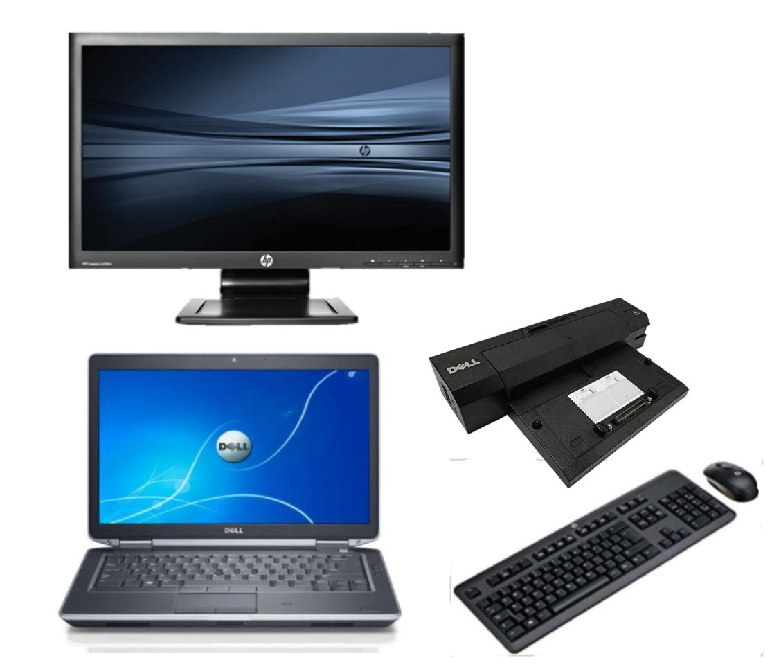 Dell Latitude E6220 intel i5 + Docking + 22'' Widescreen Monitor