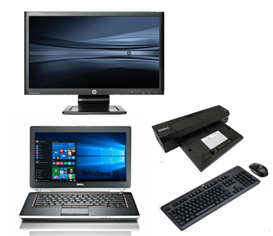 Dell Latitude E6420 intel i5 + Docking + 24'' Widescreen Monitor