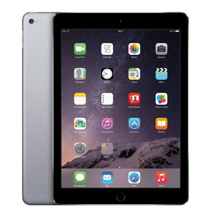 Apple iPad Air 2 - 128GB - Space Grey - (Retina Display) - A Grade Tweedehands