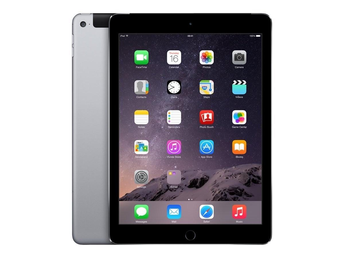 Apple iPad Air 2 - 32GB - 4G - Space Grey - (Retina Display) - A Grade Tweedehands