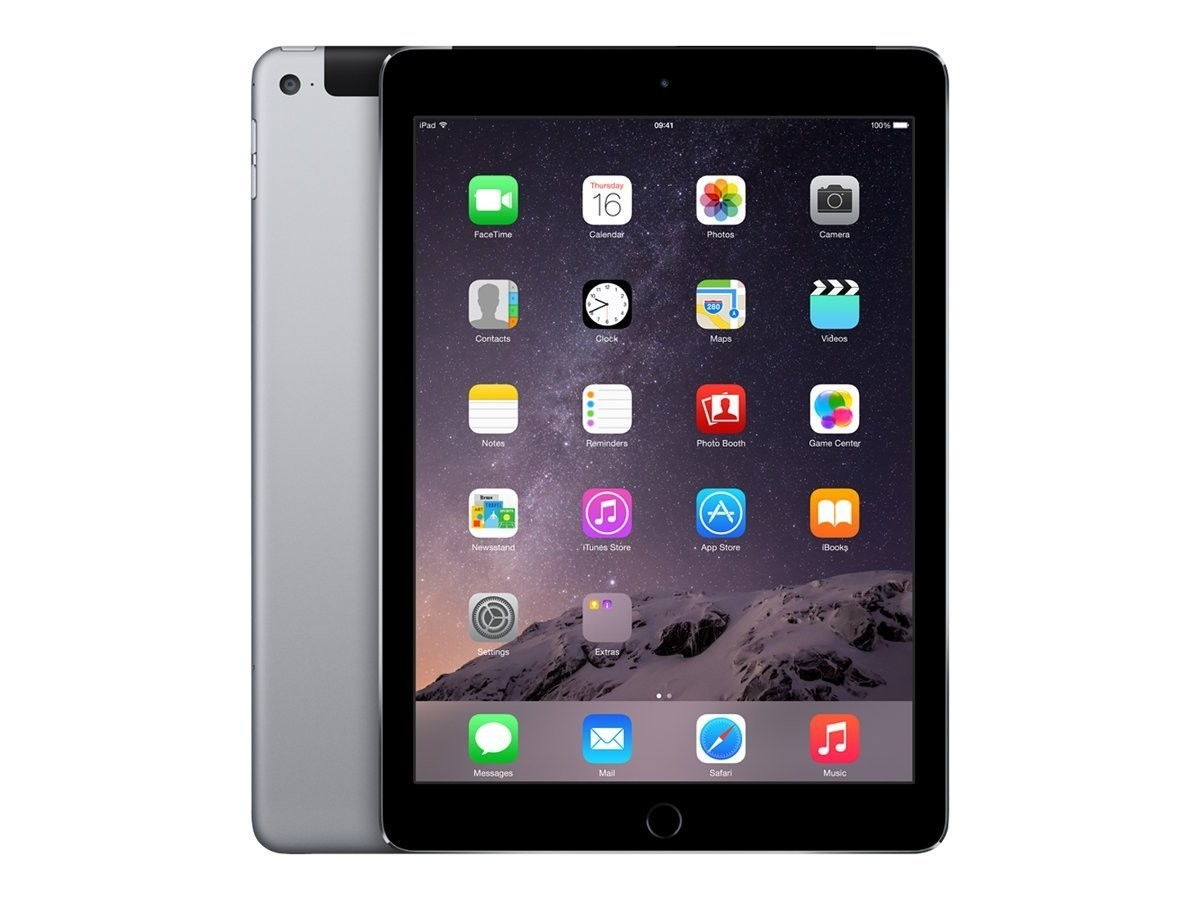 Apple iPad Air 2 - 16GB - 4G - Space Grey - (Retina Display) - B Grade