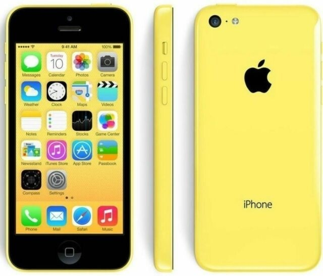 Apple iPhone 5C - 16GB - Yellow - A Grade